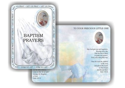 Picture of Baptism prayer booklet