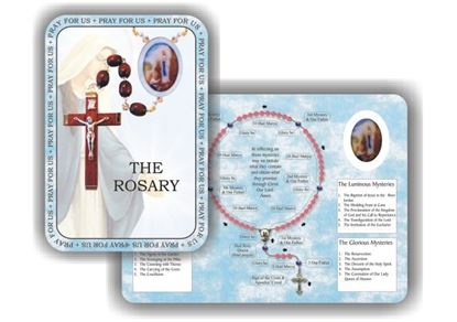 Picture of Rosary prayer booklet