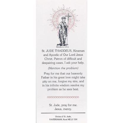 Picture of Saint Jude bookmark